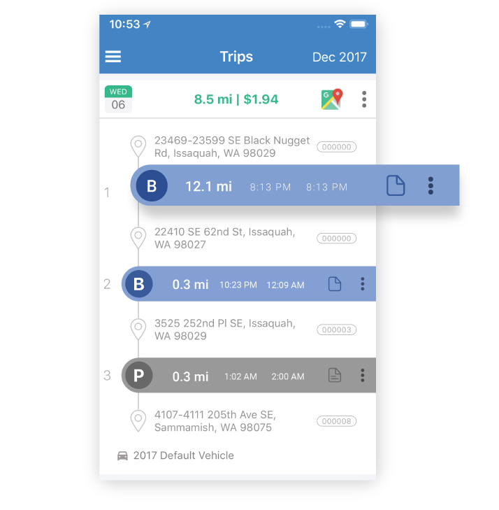 The Best Mileage Tracker App - TripLog