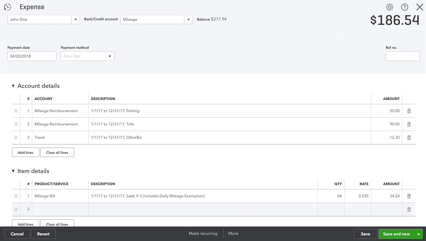 quickbooks mileage tracking app triplog