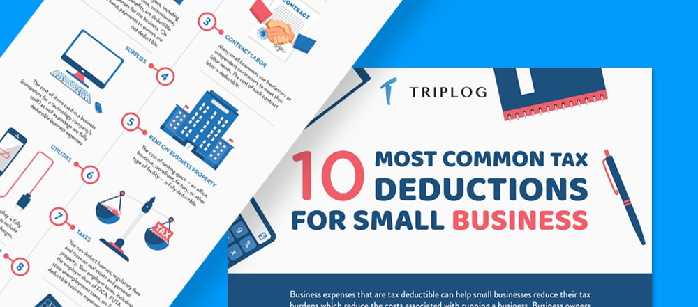 10 most common tax deductions TripLog mileage app