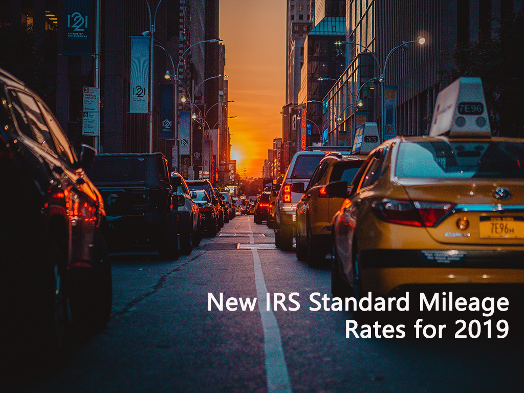 IRS Standard Mileage Rates 2019