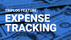 Triplog mileage tracking app expense tracking