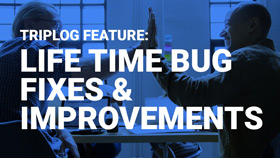 Triplog mileage tracking app Life time bug fixes & improvements