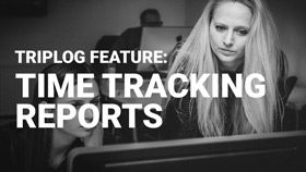 Triplog mileage tracking app time tracking reports
