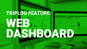 TripLog mileage tracking app Web dashboard