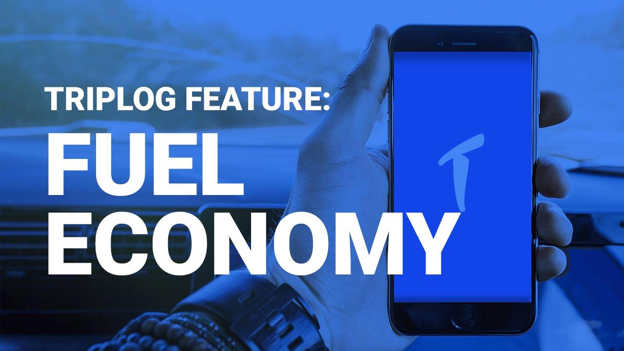 Triplog mileage tracking app fuel economy