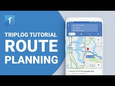 Route Planning TripLog Mileage Tracking App
