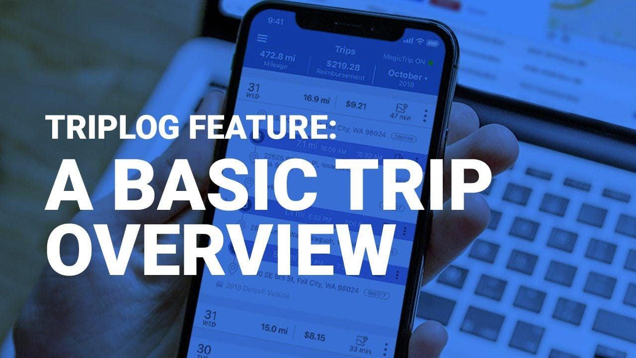 Manual Trip Entry and Manual GPS Tracking - TripLog