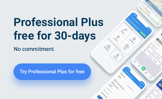 Triplog mileage tracker professional plus plan 30 day free trial