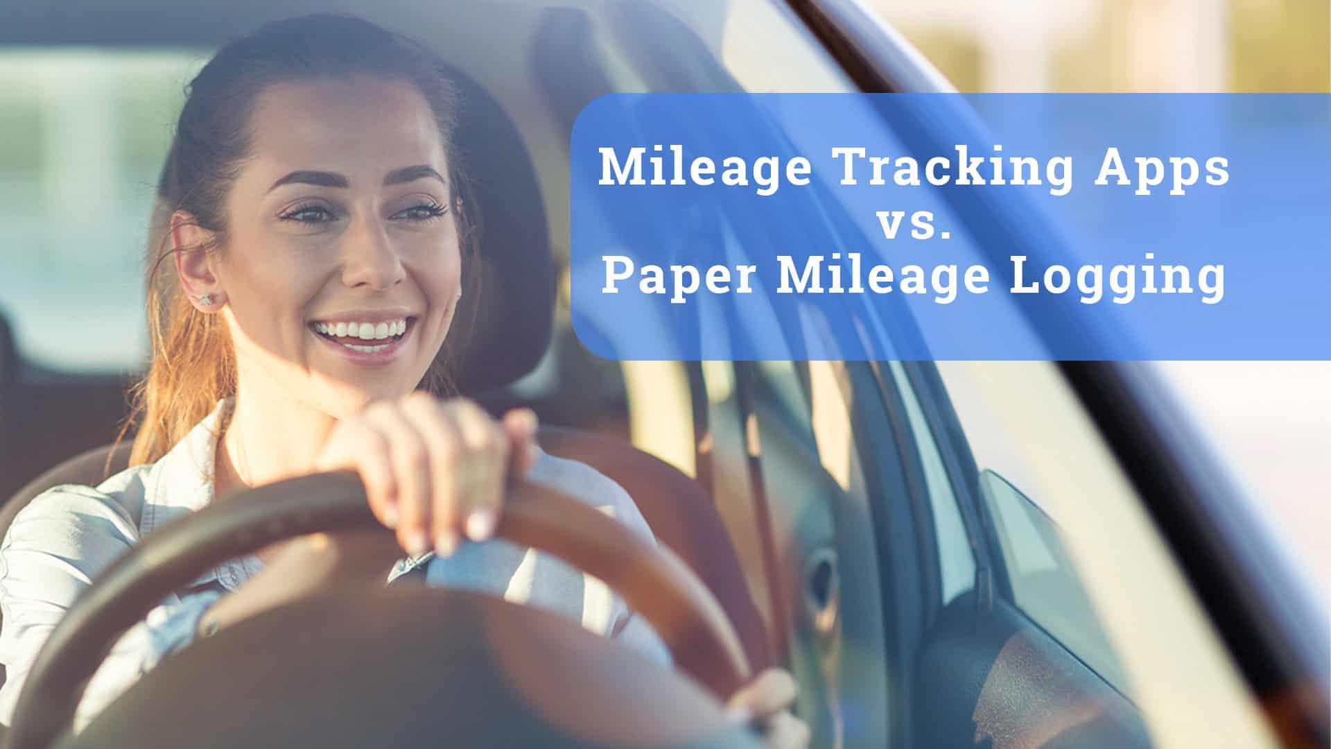 triplog mileage tracker apps vs paper mileage log
